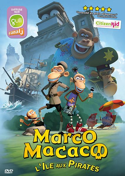 Marco Macaco : l'île aux pirates affiche